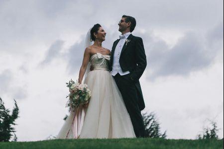 El vestido ideal para novias bajitas