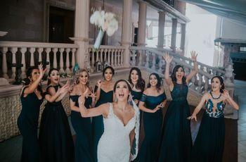 ¿Cuándo lanzar el ramo de la novia? ¡El momento de las solteras!