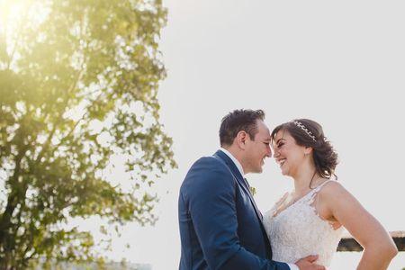 La boda de Karla e Israel: consentidora y planificada con mucho mimo