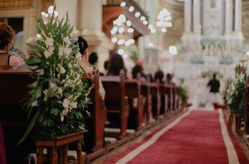 5 estrategias para decorar la iglesia de su boda a bajo costo