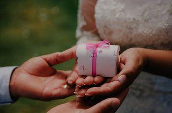 8 ideas de regalo para el primer aniversario de casados