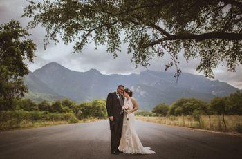 """El """"sí, quiero"""" más romántico en la boda de Laura y Gustavo en Monterrey"""