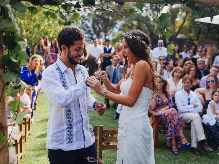 Boda bohemia: el genuino estilo de las parejas de espíritu libre