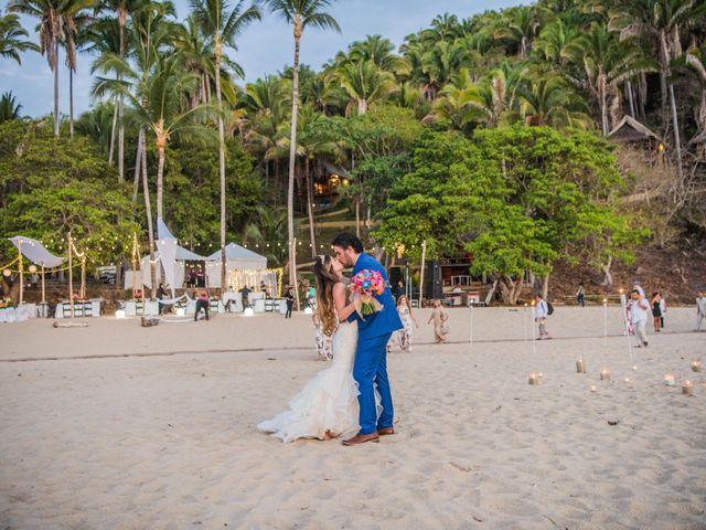 Una temática indudablemente marina: la boda de Arnoldo y Stefany