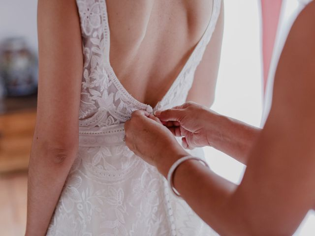 Cómo ponerse el vestido de novia... porque algunos no son tan sencillos