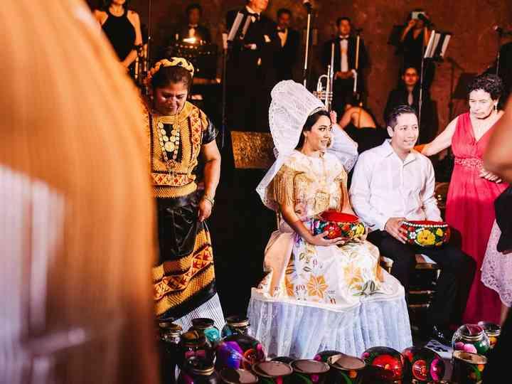 Mediu xhiga, el baile más tradicional de Guillermo y Jocelyn
