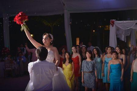 Ideas originales para lanzar el ramo de novia