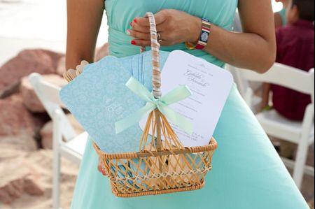 Recuerdos de boda para entregar en la iglesia