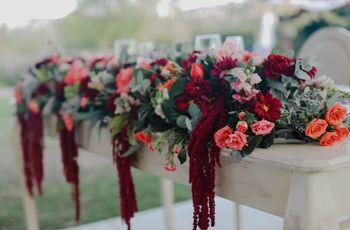 10 tipos de follaje para decoración floral de bodas, ¿los reconocen?