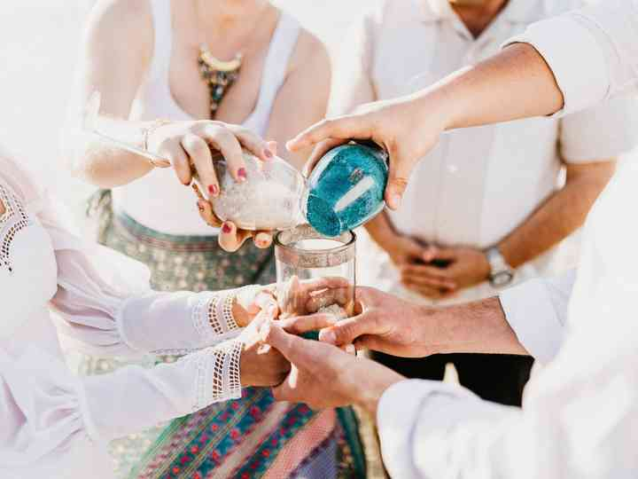 6 ceremonias simbólicas para una boda civil inolvidable