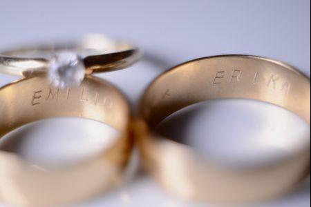 Metales para tus anillos de boda
