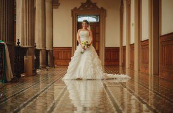 Vestidos para novias con poca cintura