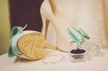¿Por qué escribir los nombres de las amigas en los zapatos de novia?