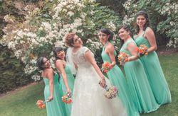 9 ideas para los ramos de tus damas de honor