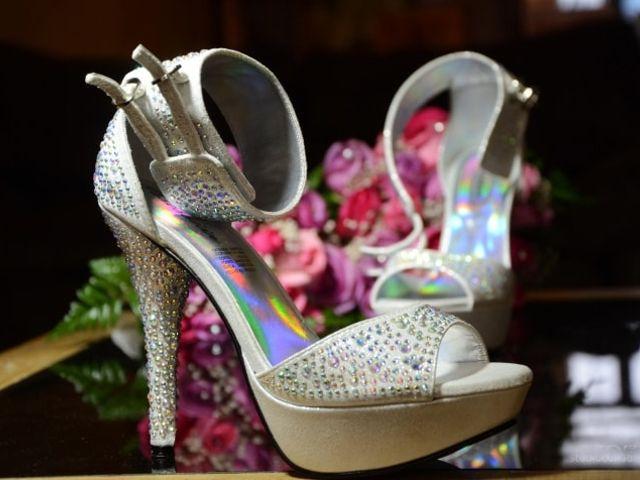 Zapatos con brillos y aplicaciones, nueva tendencia