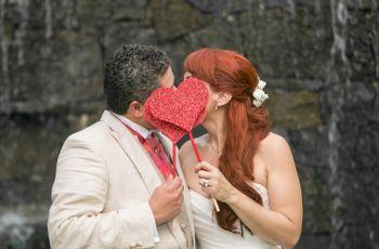 Decoración de bodas con corazones