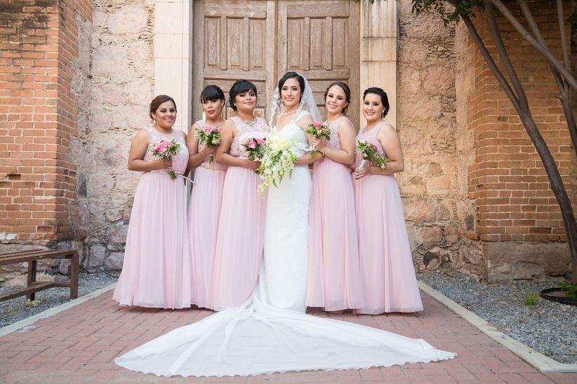 Vestidos de dama para boda de dia