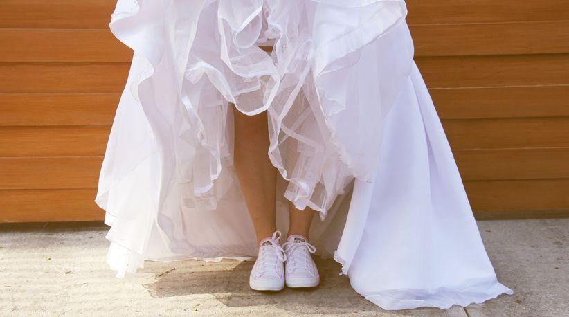 tenis para la novia - bodas.mx