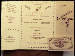 Invitaciones & Sobres 4