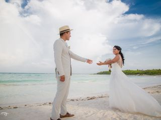 Wedding Pictures Cancún by Art & Photo 2