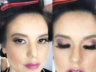 Fernanda Montealegre Makeup Artist 2