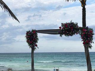 Decoración Floral Cancún 1