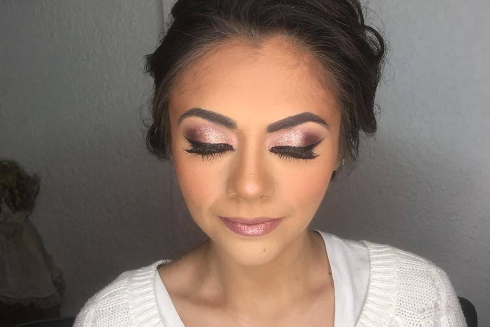 Lidya Espíndola Make Up 20