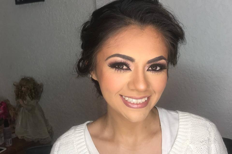 Lidya Espíndola Make Up 21