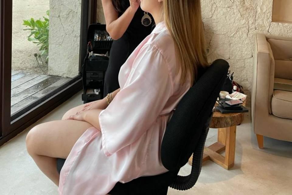 Gio Wedding Makeup & Hairstyle 2