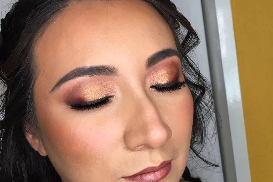 Lorena Amate Makeup 1
