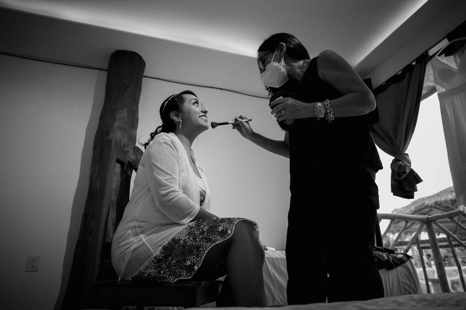 Gio Wedding Makeup & Hairstyle 10