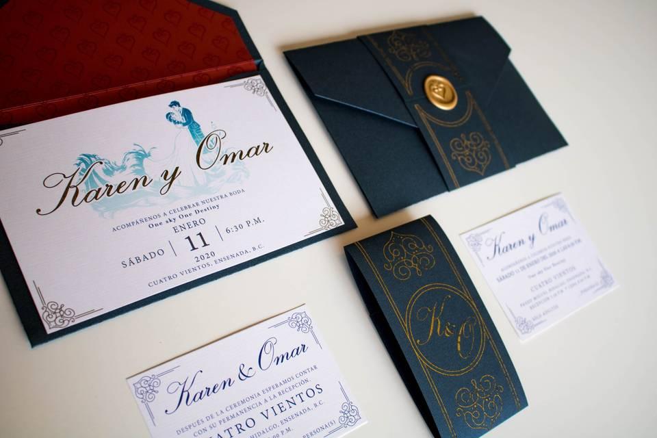 Invitaciones Kennedy 2