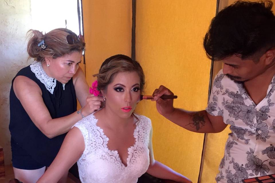 Anastacio Makeup & Hair 11