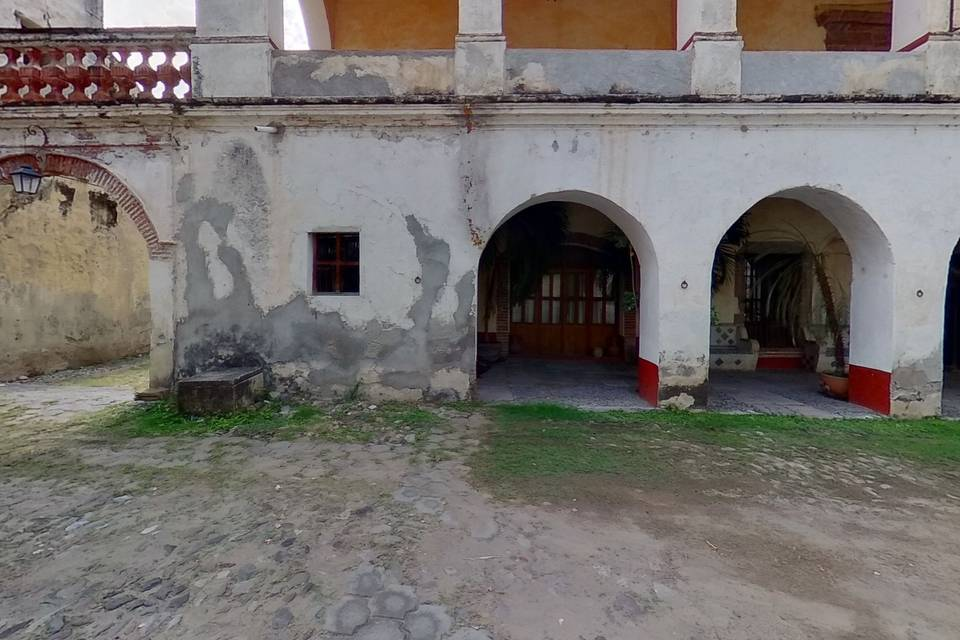 Hacienda Santa Cruz Vista Alegre Casco Antiguo y Trapiche 3d tour