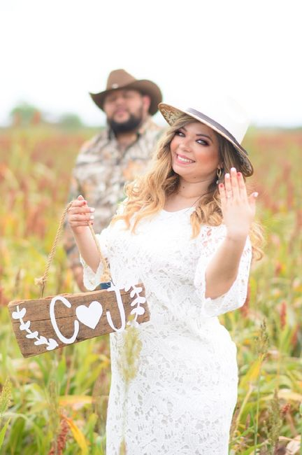 Save the date at ranch! 🤠😍💕👰🏼 - 4