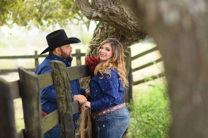 Save the date at ranch! 🤠😍💕👰🏼 - 3