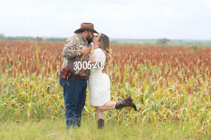 Save the date at ranch! 🤠😍💕👰🏼 - 6