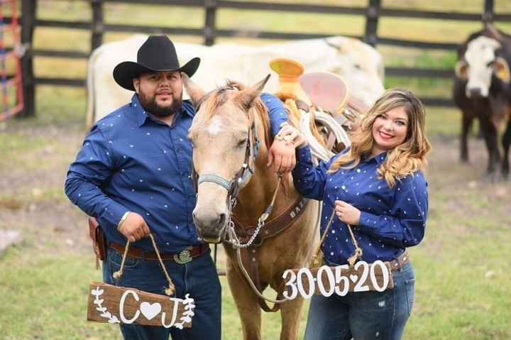 Save the date at ranch! 🤠😍💕👰🏼 - 9