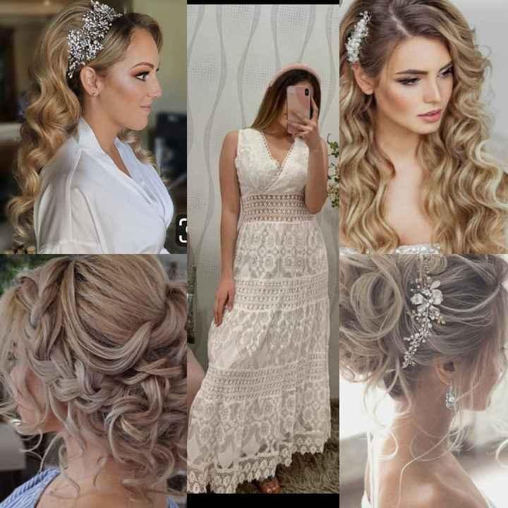 Votación de peinado boda civil 💕 - 1