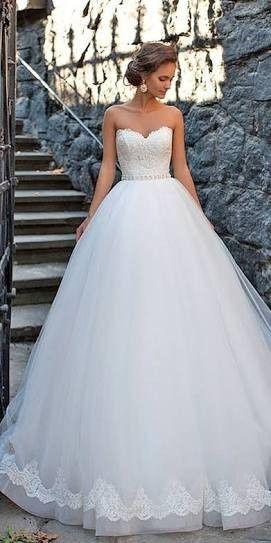 vestido de novia corte princesa ❤ - foro moda nupcial - bodas.mx