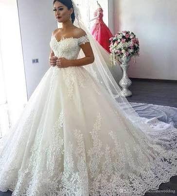 Vestidos de novia tipo corte princesa