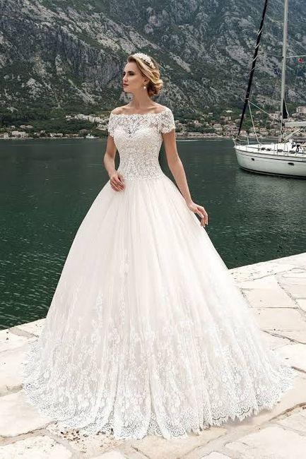vestido de novia corte princesa 2019 – vestidos madrina