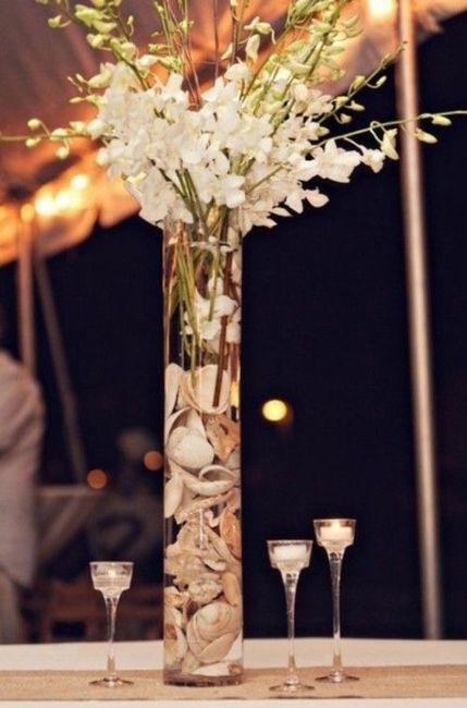 Centros de mesa para boda en playa 5