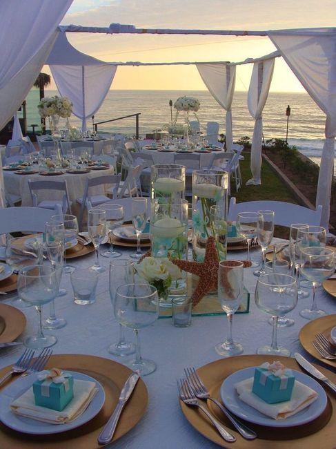Centros de mesa para boda en playa 8