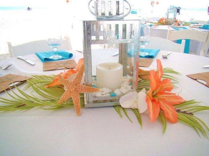 Centros de mesa para boda en playa 13