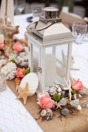 Centros de mesa para boda en playa 17