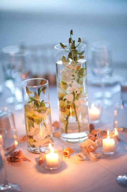 Centros de mesa para boda en playa 19