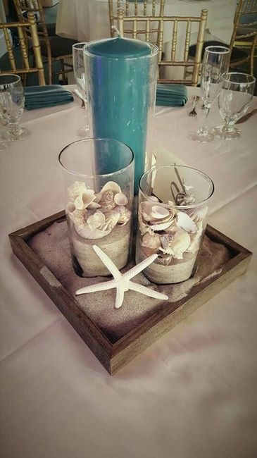Centros de mesa para boda en playa 20