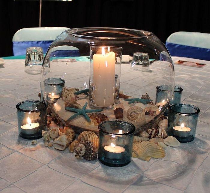 Centros de mesa para boda en playa 21