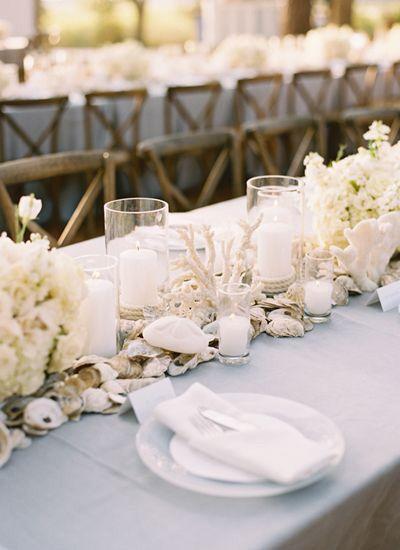 Centros de mesa para boda en playa 23
